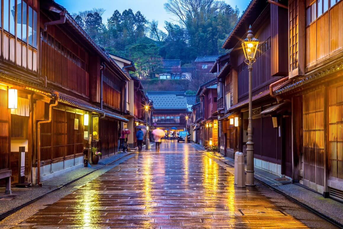 Mastro Kimono – Slide LA STRADA PER KANAZAWA