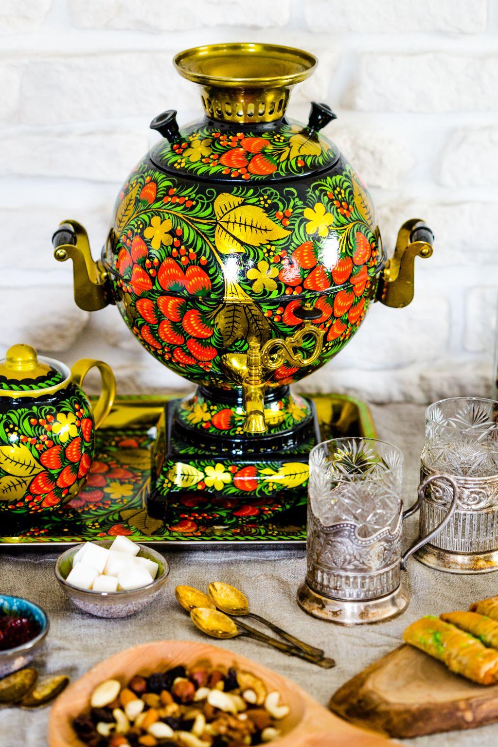 Casette Russe Di Campagna in russia il tè è una cosa seria! | mastro matrioska