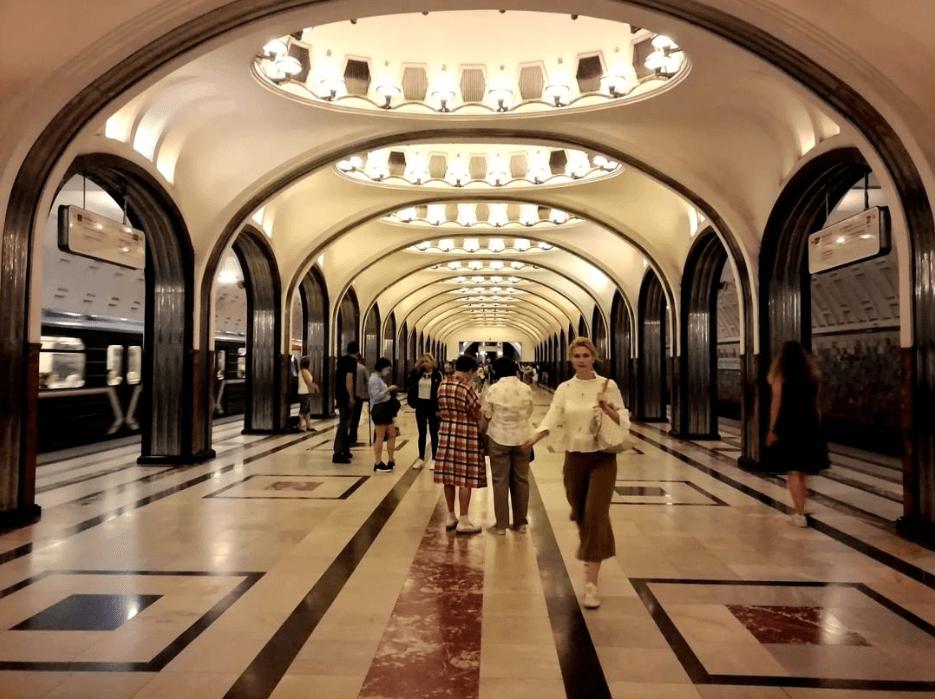 mastroviaggiatore - METRO MAYAKOVSKAYA