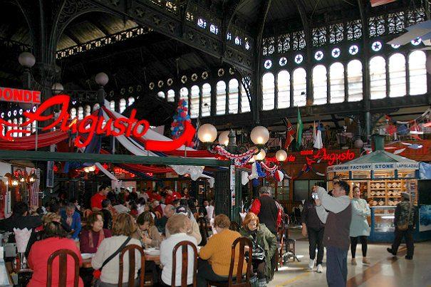 Mercado Central Santiago del Cile 3