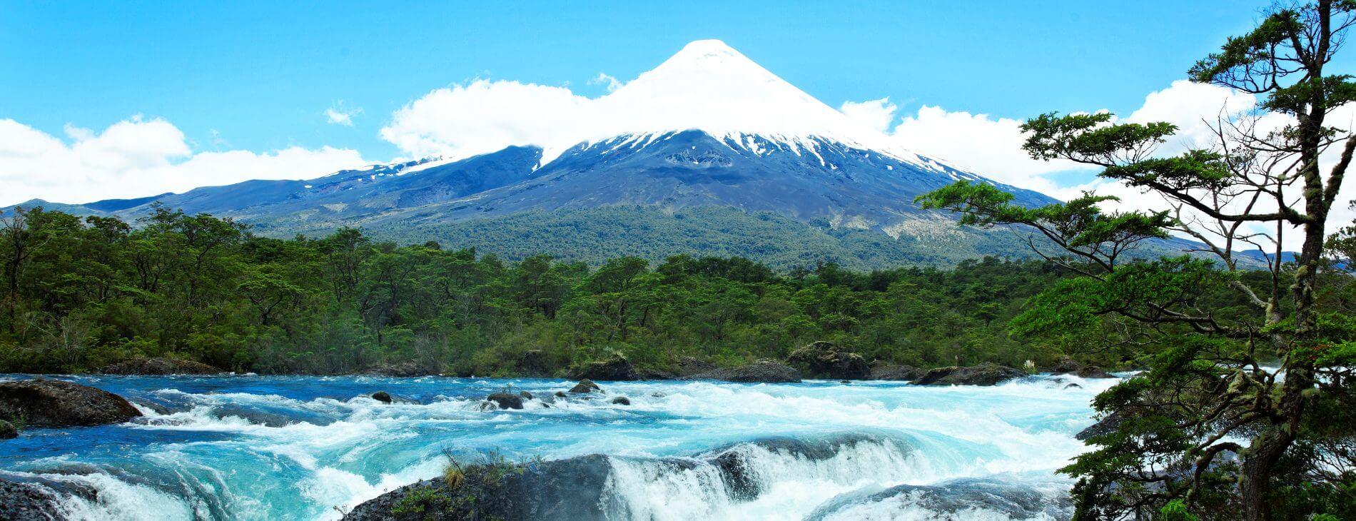 Mastroviaggiatore Cile Gran Tour Petrohue Falls