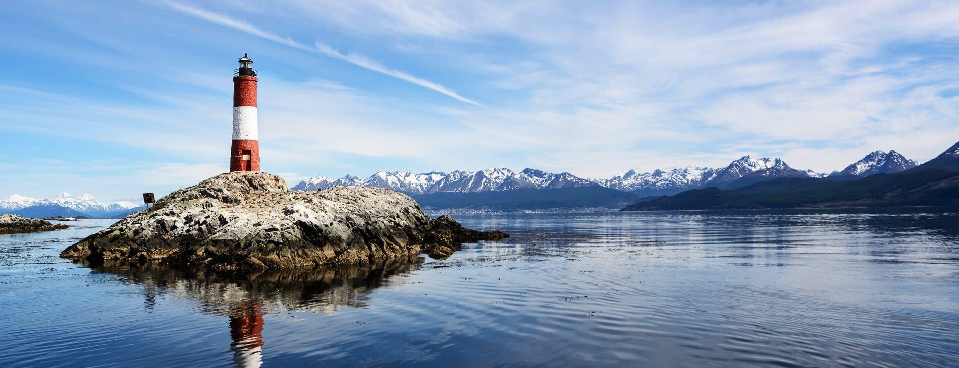 Mastroviaggiatore Patagonia Emozioni della - Faro Beagle Channel
