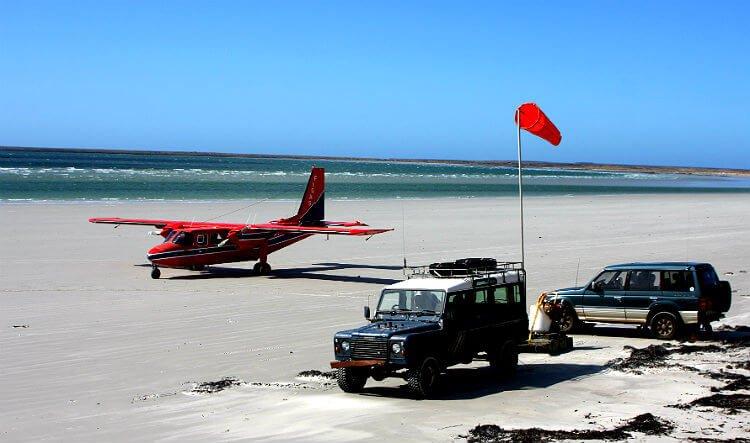 mastro-viaggiatore-come-viaggiare-falkland-atterraggio