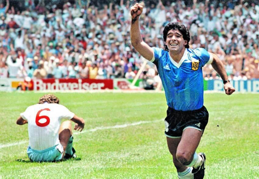 Maradona-vs-england