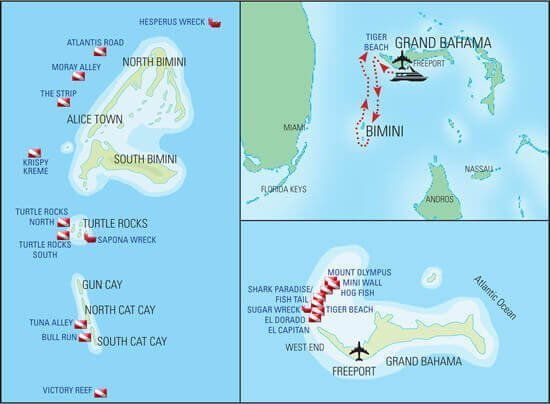 mastrosommerso-Bahamas-mappa-WestEnd