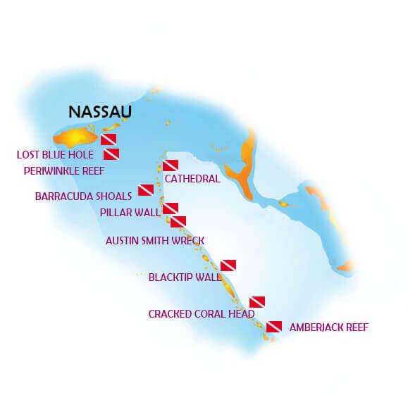 mastrosommerso-crociera-bahamas-Phoexix-mappa